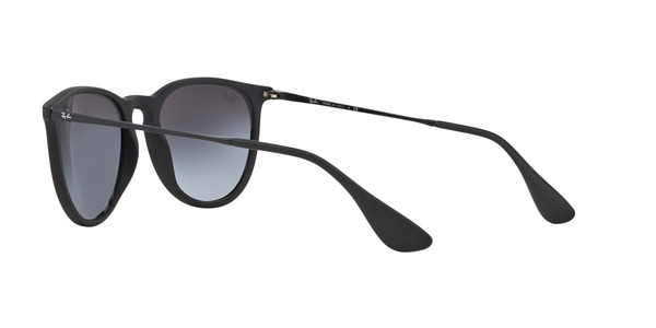 RAY-BAN RB4171 ERIKA » RUBBERIZED BLACK GRAY GRADIENT