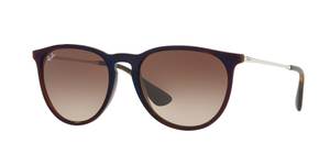 RAY-BAN Erika RB4171 631513 TRASPARENT BROWN SP BLUE