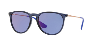RAY-BAN Erika RB4171-6338D1 TRASPARENT BLUE