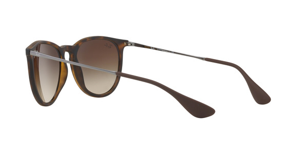 RAY-BAN RB4171 ERIKA » RUBBERIZED HAVANA BROWN GRADIENT