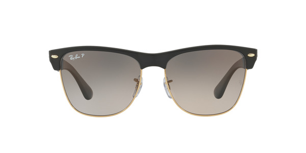 RAY-BAN RB4175 CLUBMASTER OVERSIZED » DEMI GLOSS BLACK