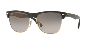 Clubmaster Oversized RB4175 877/M3 DEMI GLOSS BLACK