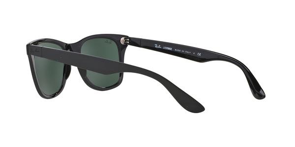 RAY-BAN RB4195 LITEFORCE WAYFARER » BLACK GREEN