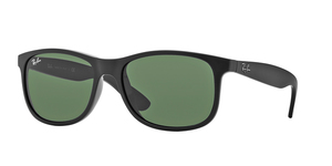 RAY-BAN Andy RB4202 606971 SHINY BLACK DARK GREY