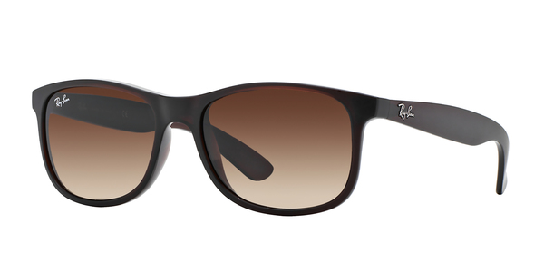 RAY-BAN RB4202 ANDY » SHINY BROWN BROWN GRADIENT