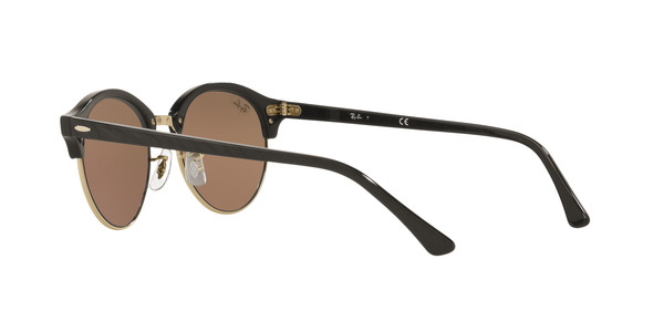 Ray Ban Clubround RB 4246 1197Z2 Top Wrinkled Black On