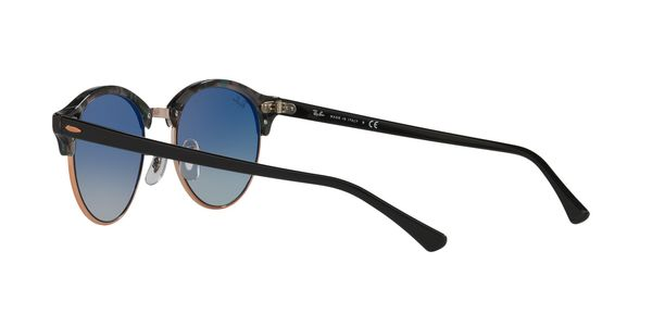 9700d21537f ... RAY-BAN RB4246 CLUBROUND » SPOTTED GREY GREEN