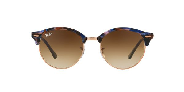 3e865122ec ... RAY-BAN RB4246 CLUBROUND » SPOTTED ...