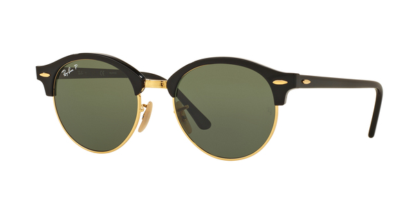 RAY-BAN RB4246 CLUBROUND » BLACK