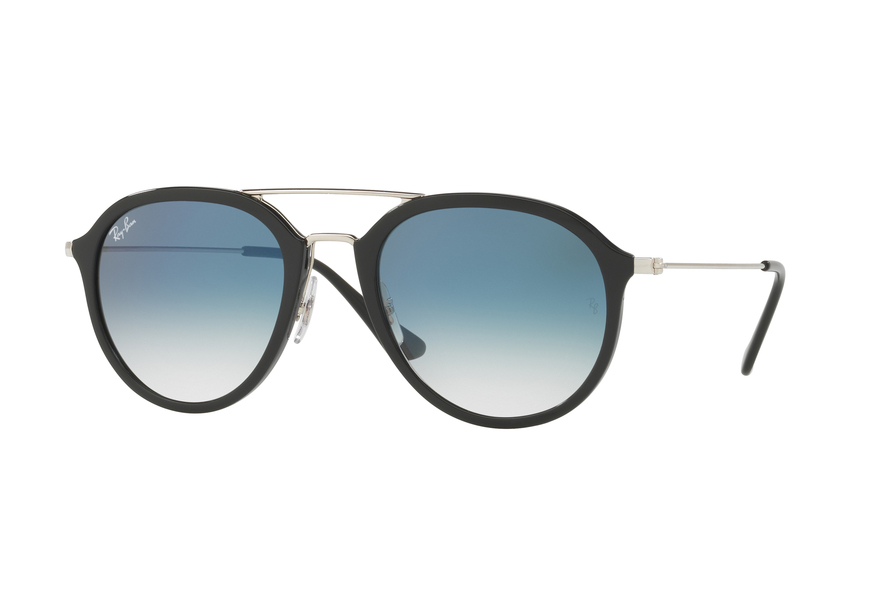 Ray-Ban RB4253 Sonnenbrille Blau/ Transparent 60533A 53mm hf4c9