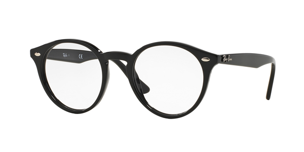 RAY-BAN RX2180V » SHINY BLACK