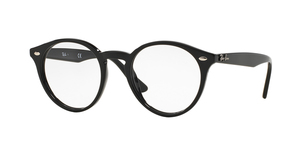 RAY-BAN  RX2180V-2000 SHINY BLACK