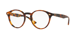 RAY-BAN  RX2180V-5675 TOP HAVANA BROWN ON HAVANA YEL