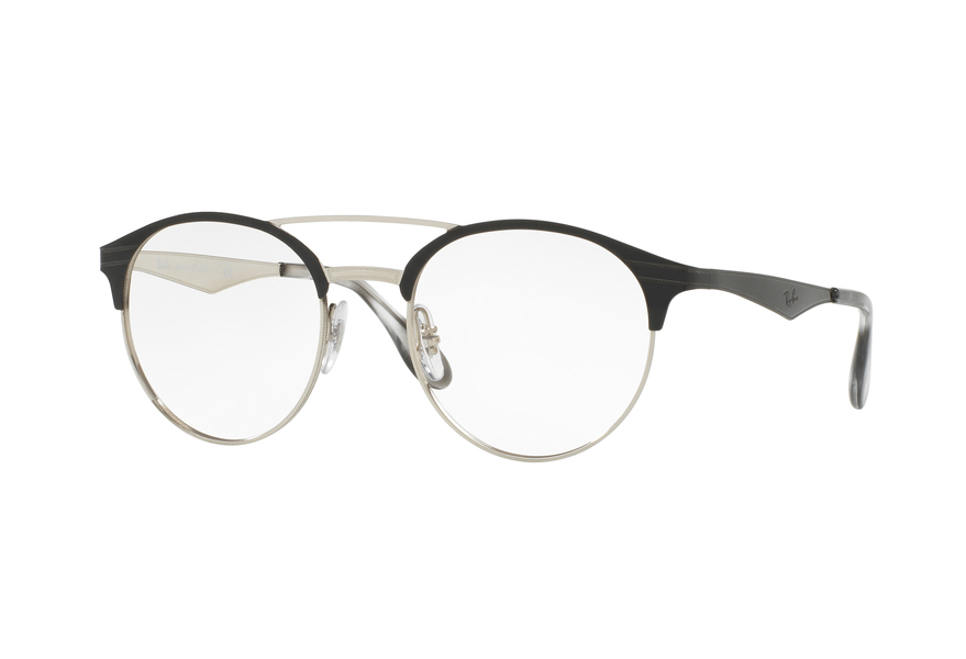 Occhiali da vista Ray Ban RX3545V 2861 51-20 ToP Black On Silver SzFYpBzON