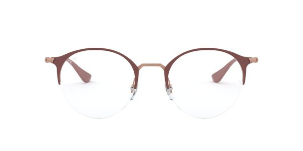 RAY-BAN RX3578V » COPPER ON TOP LIGHT BROWN