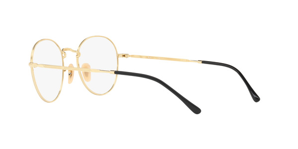 RAY-BAN ROUND METAL II RX3582V » GOLD ON TOP BLACK