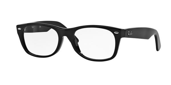 RAY-BAN RX5184 NEW WAYFARER » SHINY BLACK
