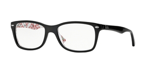 RAY-BAN RX5228 5014 TOP BLACK ON TEXTURE W