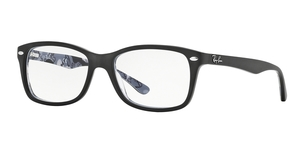 RAY-BAN RX5228 5405 TOP BLACK ON TEXTURE CAMUFLAGE