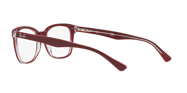 RAY-BAN RX5285 » TOP BORDEAUX ON TRASPARENT