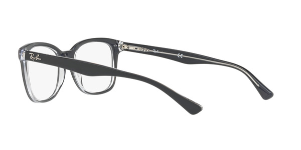 RAY-BAN RX5285 » TOP GREY ON TRASPARENT