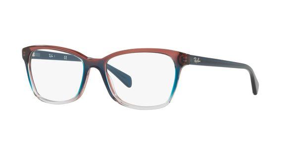 RAY-BAN RX5362 » TRI GRAD BLUE/RED/LIGHT BLUE