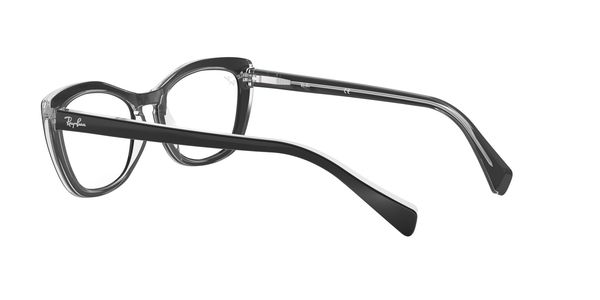 RAY-BAN RX5366 » TOP BLACK ON TRANSPARENT
