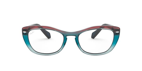 RAY-BAN RX5366 » TRIGRADIENT BLUE/RED/AZURE