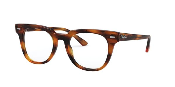 RAY-BAN METEOR » STRIPPED RED HAVANA