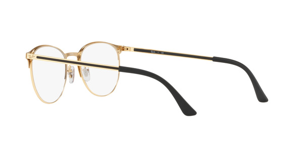 RAY-BAN RX6375 » GOLD TOP IN BLACK