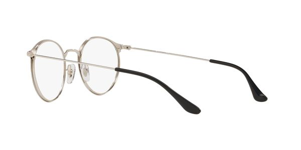 RAY-BAN RX6378 » SILVER ON TOP BLACK