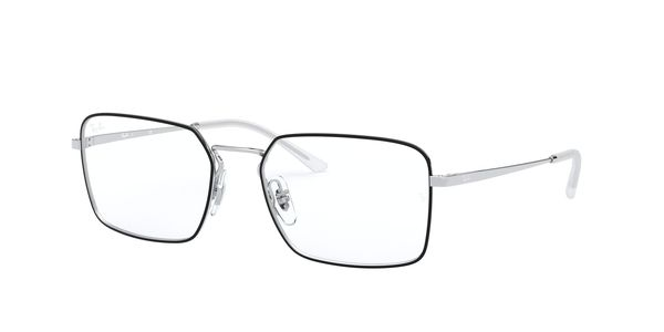 RAY-BAN RX6440 » TOP BLACK ON SILVER
