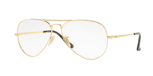 RAY-BAN Aviator RX6489-2500 GOLD