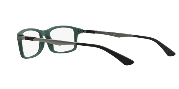 RAY-BAN RX7017 » TOP BLACK ON GREEN