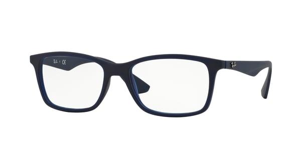 RAY-BAN RX7047 » MATTE TRASP BLUE