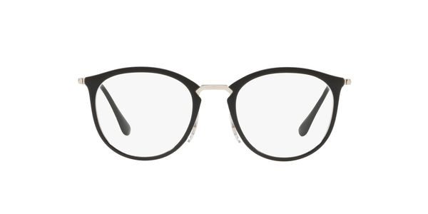 RAY-BAN RX7140 » TRANSPARENT ON TOP BLACK