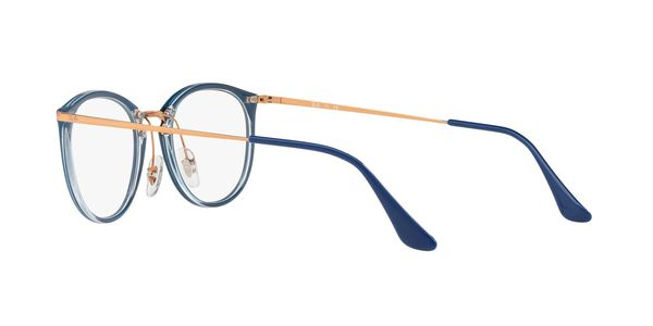 RAY-BAN RX7140 » TRANSPARENT ON TOP BLUE
