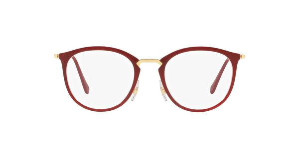 RAY-BAN RX7140 » TRANSPARENT ON TOP AMARANTH