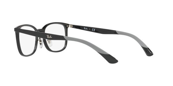 RAY-BAN RX7142 » SHINY BLACK