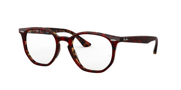 RAY-BAN RX7151 » TOP TRASP RED ON HAVANAORANGE