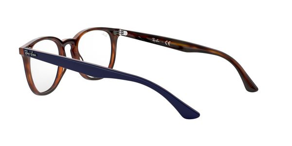 RAY-BAN RX7159 » TOP BLUE ON HAVANA RED