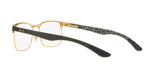 RAY-BAN RX8416 » GOLD ON TOP MATTE BLACK
