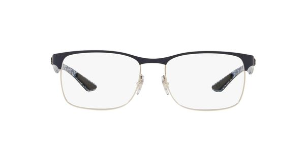 RAY-BAN RX8416 » SILVER ON TOP MATTE BLUE