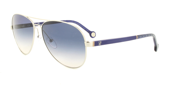 CAROLINA HERRERA SHE070 » DARK BLUE/BLUE GRADIENT