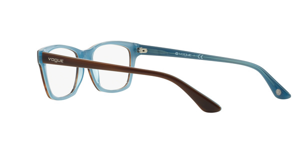 VOGUE EYEWEAR VO2714 » TOP STRIPED BROWN/AZUR