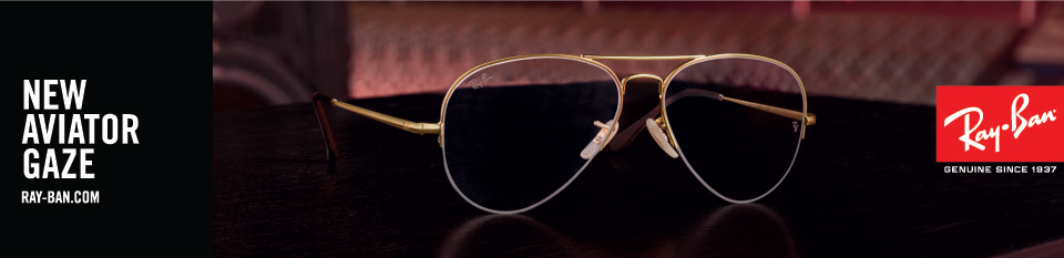 Ray-Ban Aviator Gaze Eyeglasses