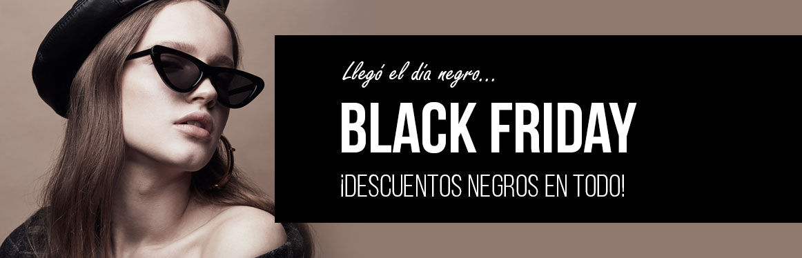Black Friday 2018, descuentos en gafas de sol, graduadas y lentillas