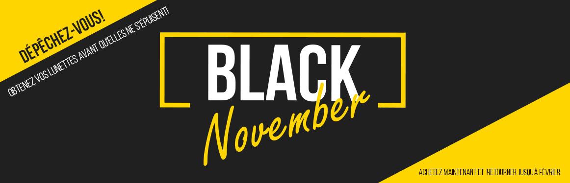 Black Friday 2019, Lunettes correctrices, de soleil et lentilles de contact